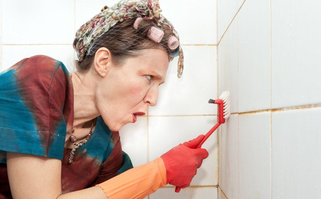Cómo limpiar los azulejos del baño