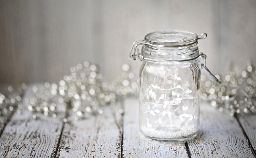 Cómo decorar tu casa con tarros de cristal