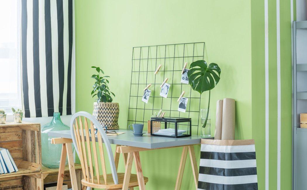 Cómo decorar tu casa en color verde