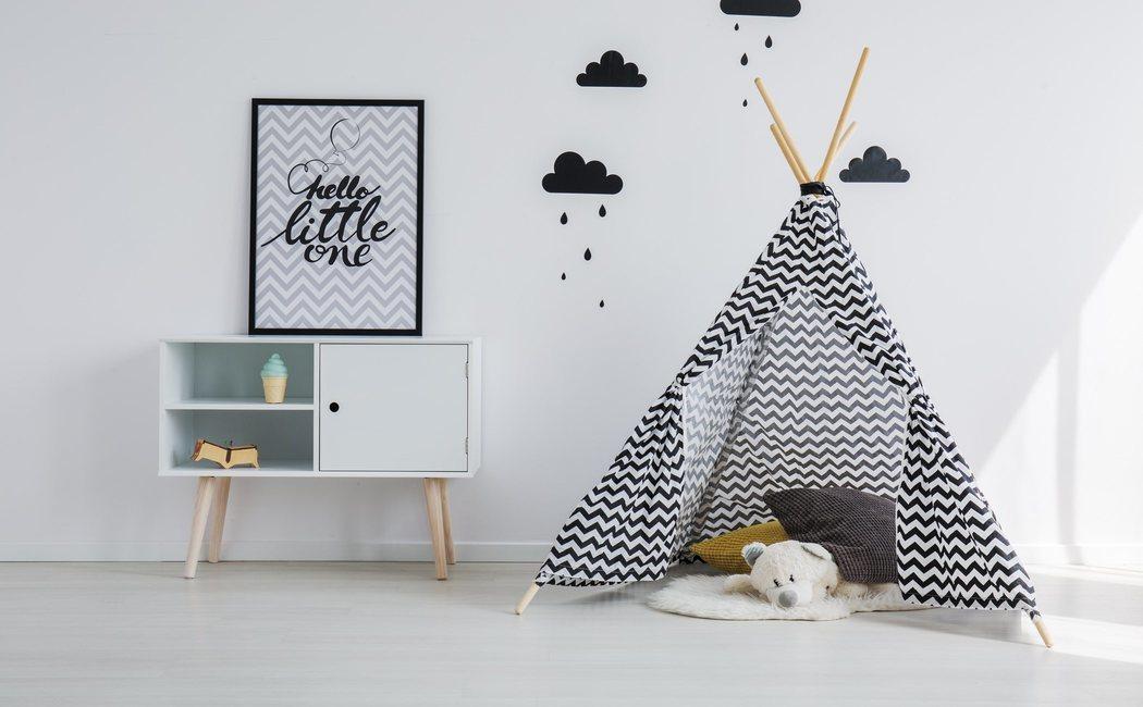 Los tipis, la última tendencia en decoración infantil
