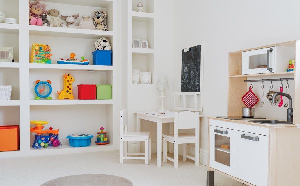 Sala de juegos o playroom