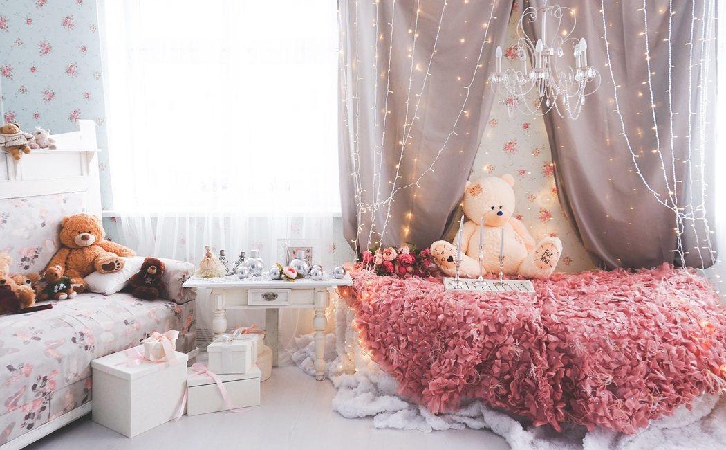 Dormitorio de bebé al estilo Shabby Chic