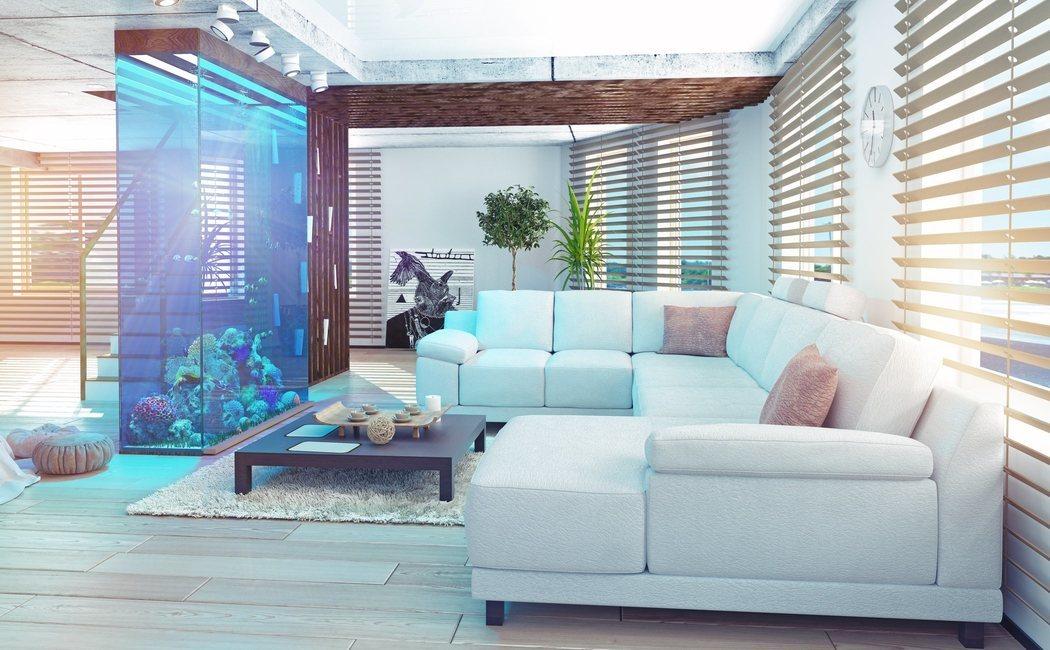Decora la casa con un acuario