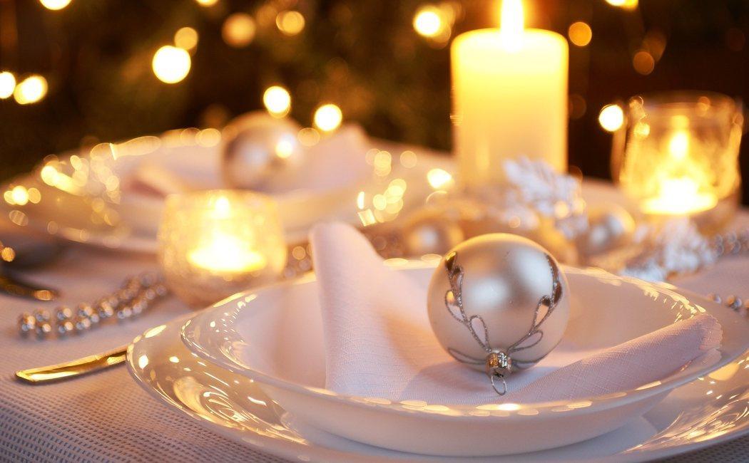 El color dorado en la decoración navideña