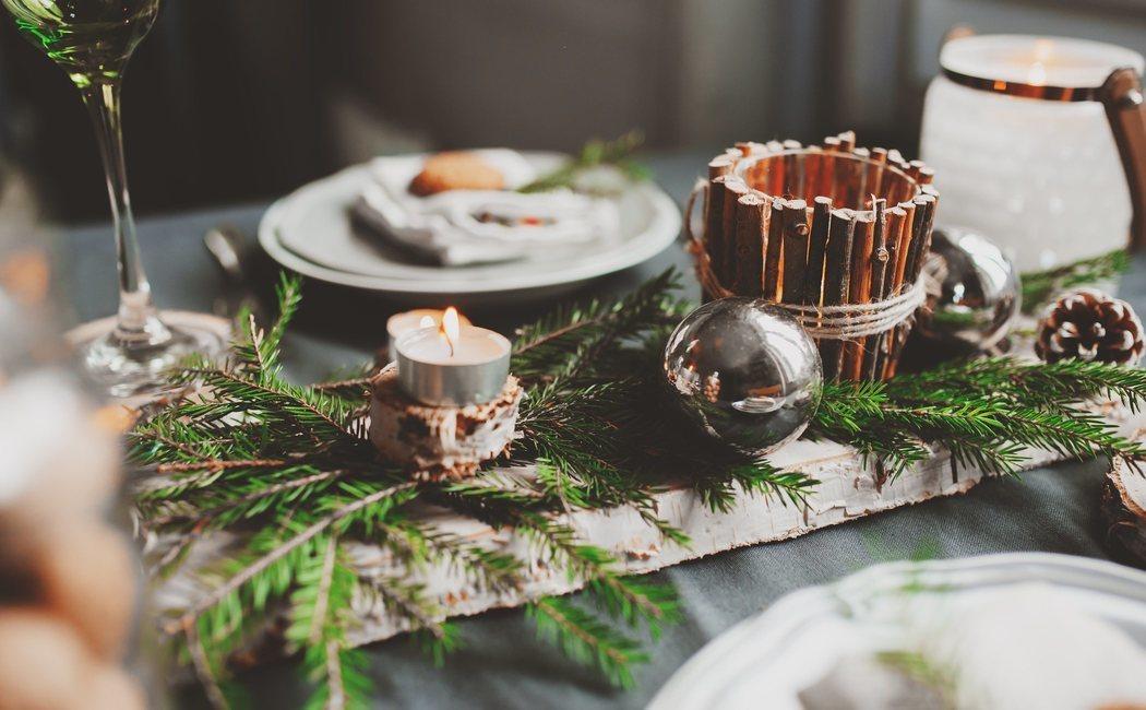 Cómo montar la mesa de Navidad