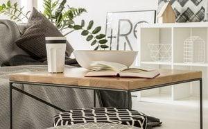 fe06ede46 Cómo decorar con mesas auxiliares - Bekia Hogar