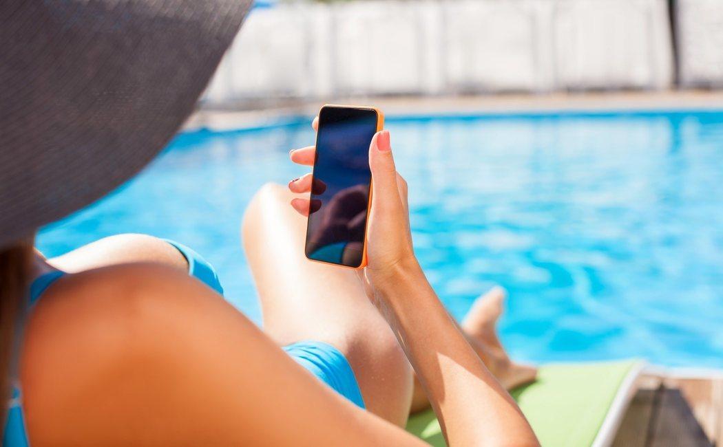 Cómo proteger el móvil en la playa
