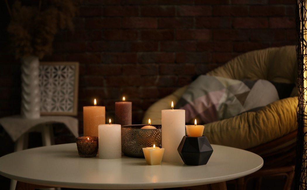 Cómo usar velas para decorar tu hogar