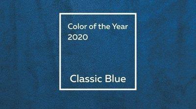 Pantone 2020: Classic blue, un azul ideal para decorar tu casa