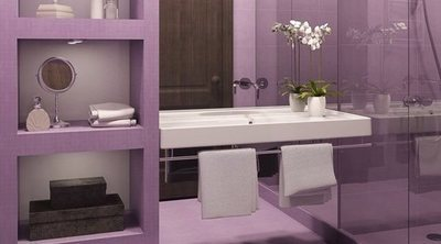 Cómo decorar tu casa en color morado