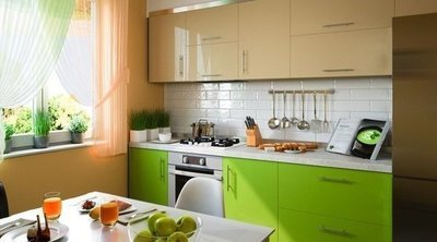 De qué color poner los muebles de la cocina