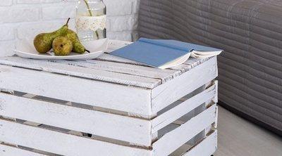 Cajas de madera recicladas: La nueva moda decorativa