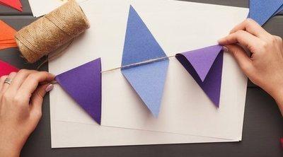 Cómo hacer banderines decorativos