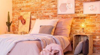 Ladrillos en espacios decorativos