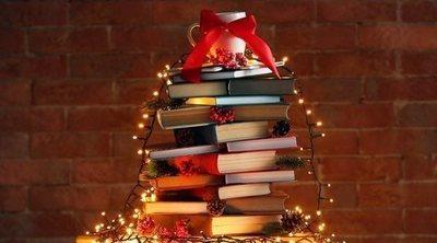 Cómo hacer un árbol de Navidad de libros