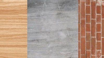 Madera, hormigón o ladrillo en la construcción