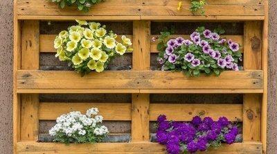 Ideas para el jardín con palets