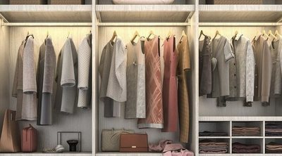 Cómo iluminar un armario